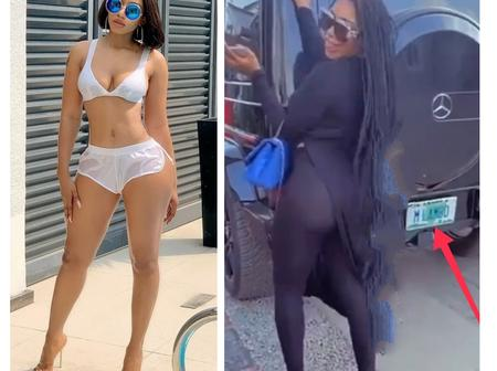 Big Brother Naija 4th Edition Winner, Mercy Eke Shows Off Her Expensive G-wagon On Instagram