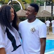 Cute Pictures of Nigerian Footballer, Oghenekaro Etebo And His Wife Bethel