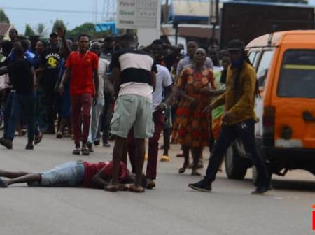 OPINION: Edo Youths Should Learn From The Supporter Who Fell Down From A Speeding Bus And Stay Calm