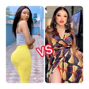 Bobrisky vs JayBoogie: Which of these guys looks prettier in female dresses?
