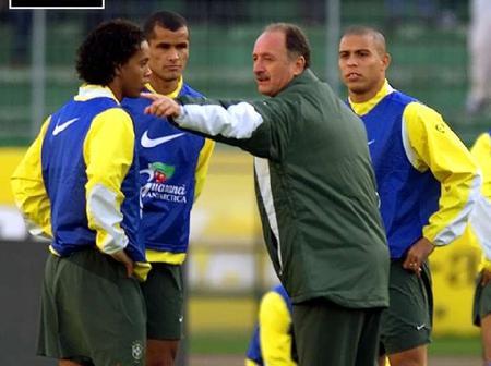 How I decide my tactics with Ronaldo, Carlos & Cafu in my team, Former Brazil Coach Scolari reveals.