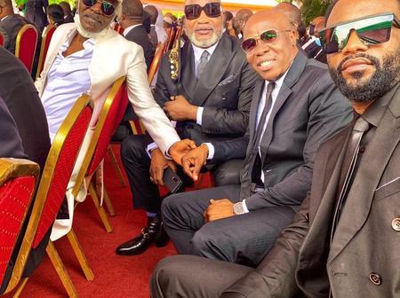 Hommage à Hambak : voici l'image des rois de la musique africaine présents