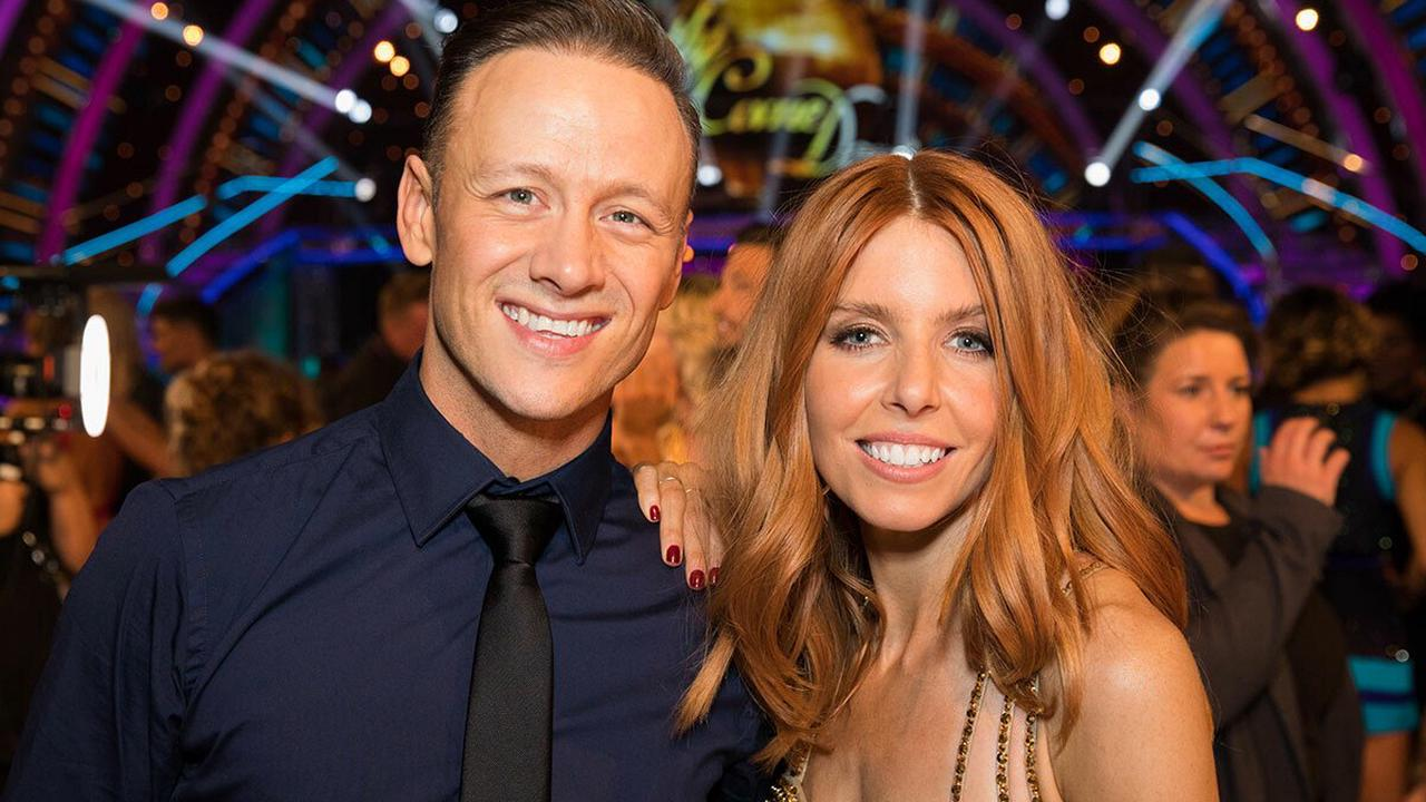 Stacey Dooley causes a stir in Kevin Clifton's designer underwear for celebratory photo