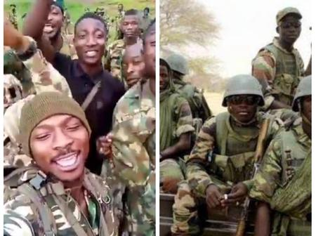 (Video): Watch Video Of Some Young Nigerian Soldiers Singing Against Boko Haram's Killings