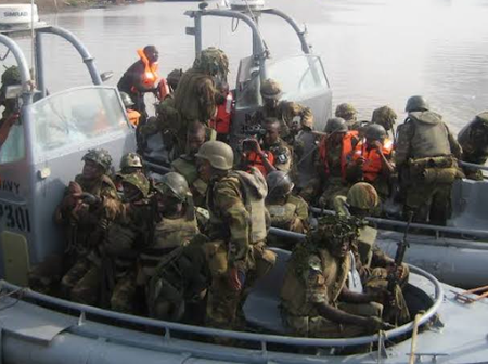 Today's Headline News: Navy Destroys 15 Militants' Camps, Arrests 17 Suspects in Akwa Ibom, Rivers