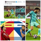 See What Salah Said After Yesterday Win Against Sheffield