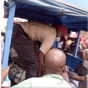 See The Terrible Accident That Occurred Along Lafia- Makurdi Road (Photos)