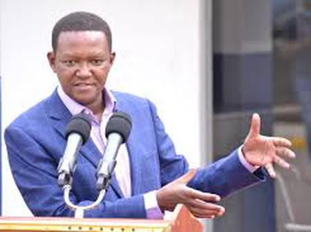 [Video] Alfred Mutua Lectures Kalonzo Musyoka After Kalonzo Asked Raila To Quit Handshake