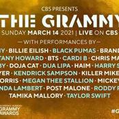 Fans react as Burna Boy's name fails to appear on list of Grammy Awards performers