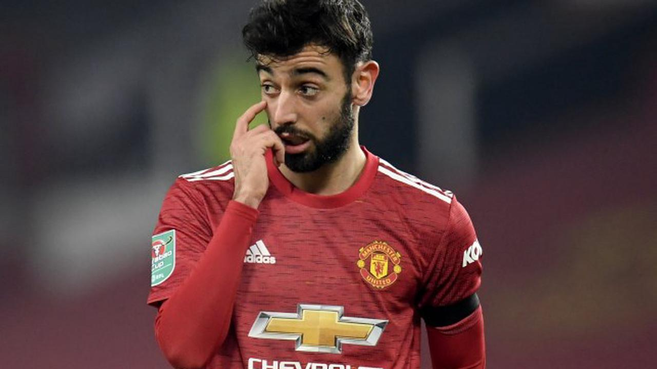 Watch: Man United star Bruno Fernandes disgraces himself with embarrassing moment of play-acting