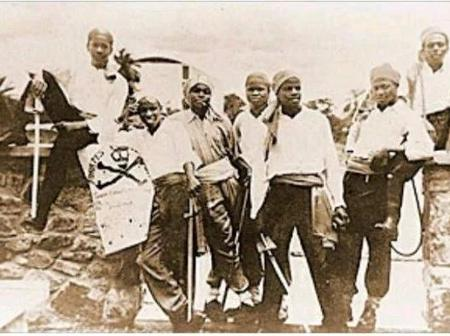 Names And Pictures Of The First 7 People Who Started Pyrates Confraternity In Nigeria