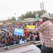 Dennis Waweru Reacts As Raila Storms Westlands
