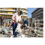 Nairobi CBD Traders Cry Foul As NMS Demolishes Ronald Ngala Mfangano Street Stalls