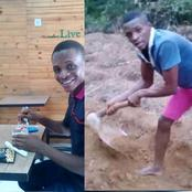 Remember Igbo Boy That Ended Up As Farmer After Graduating With First Class?, See What Happened Now