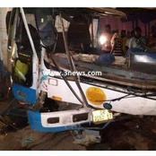 Gory Accident Claims 11 Lifes After A Toyota Mini Bus Collided With A Tipper Truck.