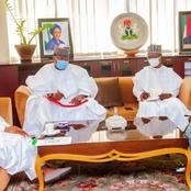Governor Tambuwal hold a closed door meeting with finance minister in Abuja [Photos]