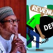 Buhari Met A Total Debt Of $9.7 Billion Dollars In 2015, See Nigeria's Current Debt Profile
