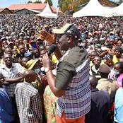 Chief Hustler!  Ruto Makes Another Stunning Visit To Uhuru's Sronghold As He Steals Show Again