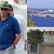 Chelsea owner, Roman Abramovich is incredibly rich. Check out some of his expensive properties.