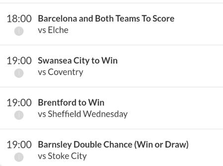 Best Predictions And Tips To Place Today And Win