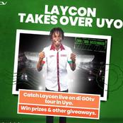 Laycon Tour Us, We Are Your Uyo. Reactions As GOTV Announces The Date For Laycon's Tour To Uyo.