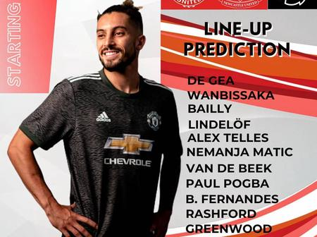 Saint James Park:Manchester United predicted Lineup against Newcastle & Team News ahead of kick-off