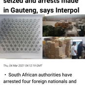 Fake vaccines along with fake 3millions masks was found at Germiston warehouse [opinion]
