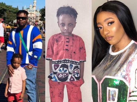Rare Photos Of Olamide Baddo's Wife And His Children