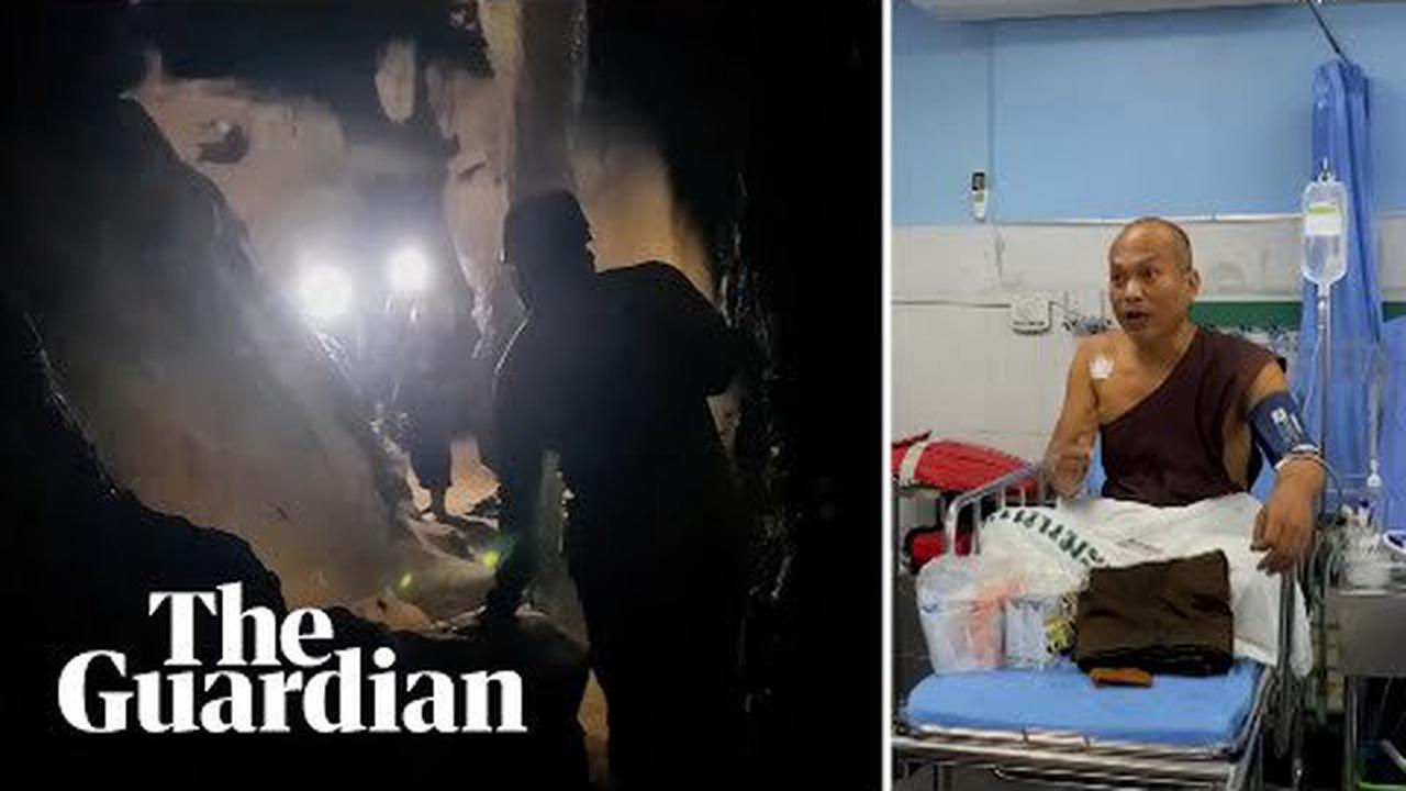 Thai cave rescue, the sequel: Meditating monk saved from flooded cave after four days