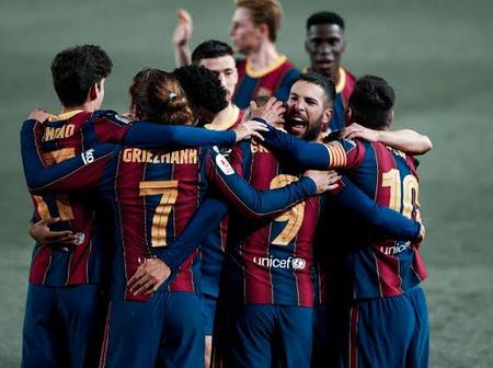 Good News for Barcelona, as Atlético defeat hands Blaugrana title boost.
