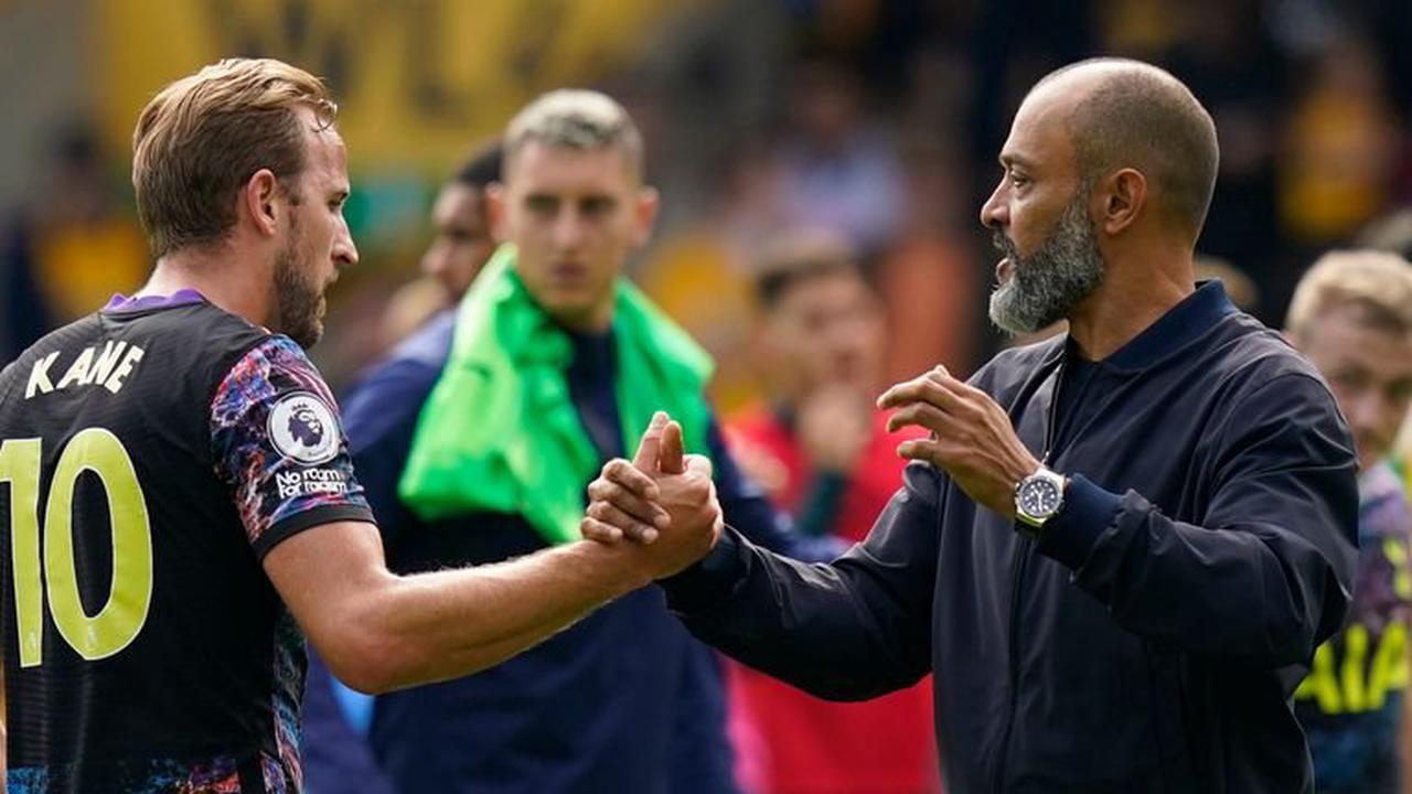 Harry Kane's goal struggles not only problem Tottenham having to solve, says Nuno Espirito Santo