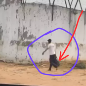 Before 1 Week Ultimatum, Man Carries His Luggage And Allegedly Return To Edo Prison, Wait In Gate.