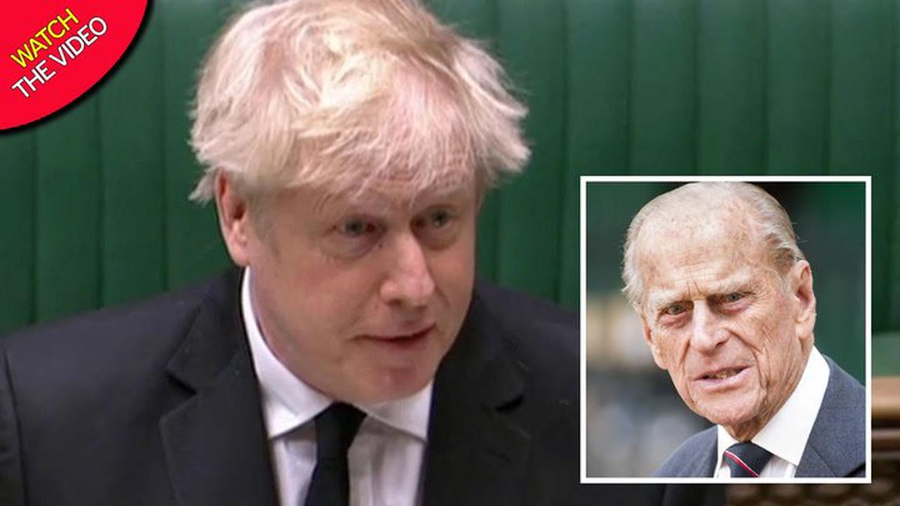Boris Johnson leads House of Commons tributes to Prince Philip