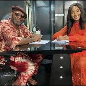 See Photos of Erica Happy, as She Signed a Management Deal With One African Global Management Family