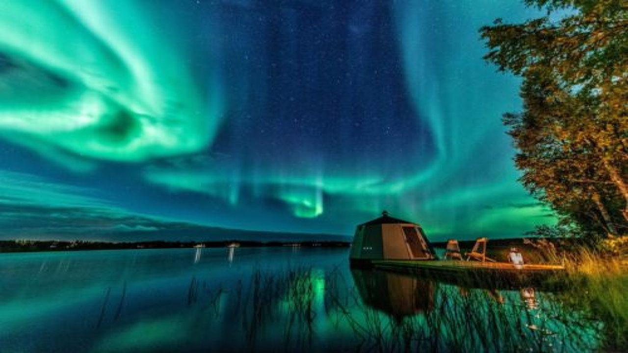 Finland Igloo Hotel Has Floating Huts That Can Be Used Year-round