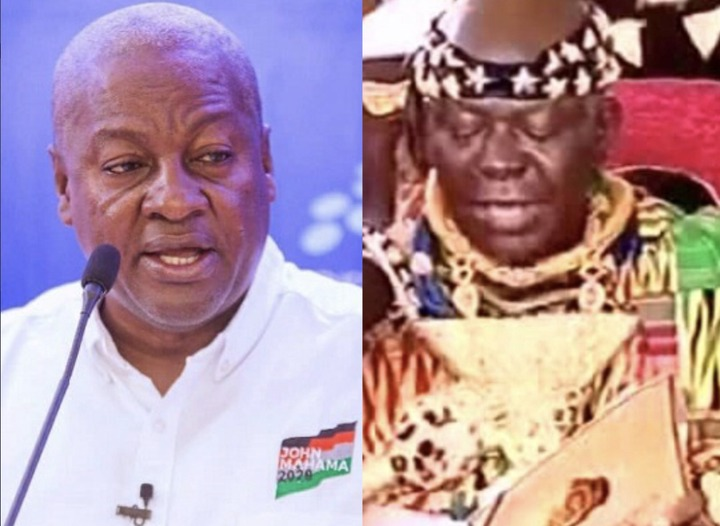cd265a9cf73fcad2c98348cd31da990d?quality=uhq&resize=720 - Go home! Only Him Can Make You President Again, So Go And Pray Hard - Otumfour Valiantly Tells John Mahama in the face