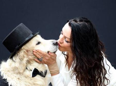 Woman who Married her Dog 1 Year Ago