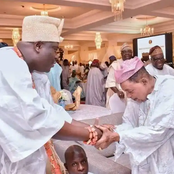 Photos Of Tinubu, Obasanjo, Alaafin, Governor Fayemi, Seyi Makinde, & Others Bowing For Ooni Of Ife
