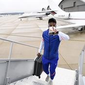 Photos: Chelsea Stars Jets Off To Spain Ahead Of Tomorrow's UCL Clash