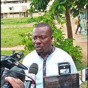 Lesgislatives à Gagnoa le candidat Samba David fait le point