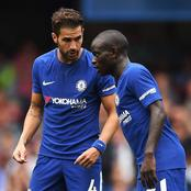 Checkout what Fabregas has called Kante.