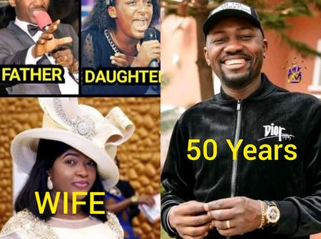 Apostle Johnson Suleman Turns 50 Today, See Photos Of His Lovely Wife And Only Daughter