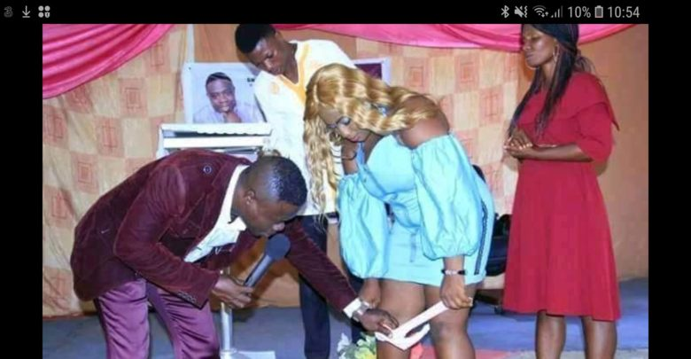 VIDEO: Pastor Orders Congregation to Take Off Their Underwear in Church