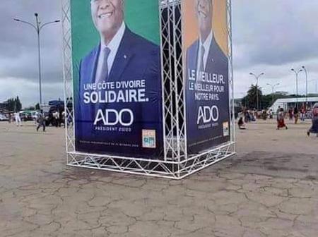 Présidentielle Ivoirienne : la campagne est lancée