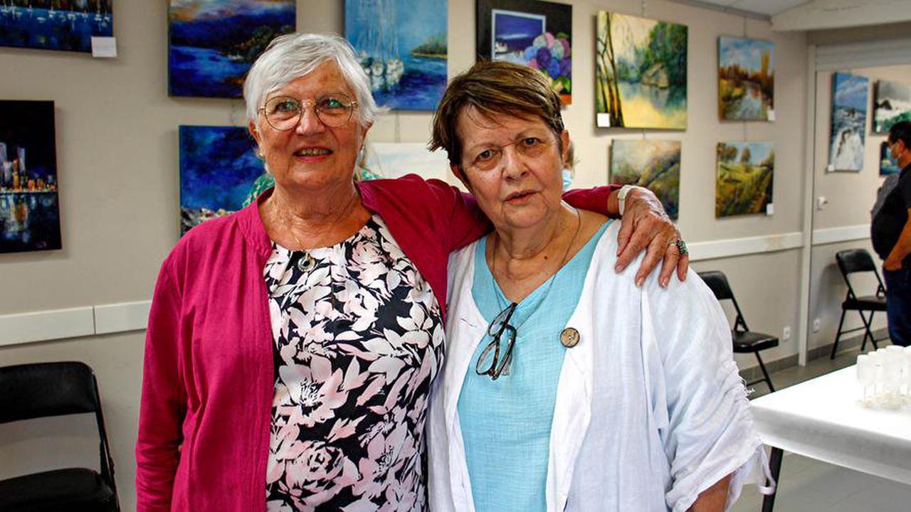 Saint-Nexans: deux peintres exposent pour l'Art dans la vigne