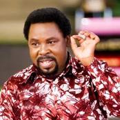 Mixed reactions as Prophet T.B Joshua of SCOAN endorses the use of Covid-19 Vaccine