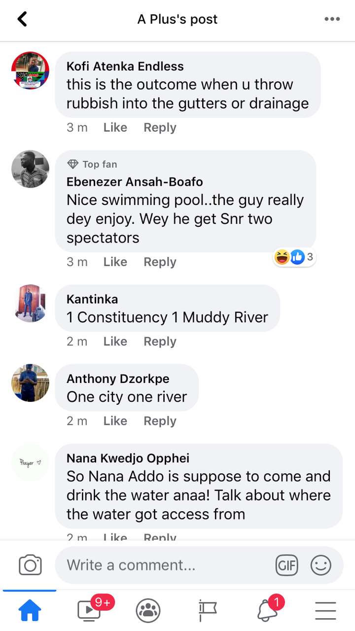 "cd7ac31de27cd7f0b17ca23e462efacf?quality=uhq&resize=720 - ""4 More To Swim More"" - Ghanaians React To A Boy Swimming In Flood Water"