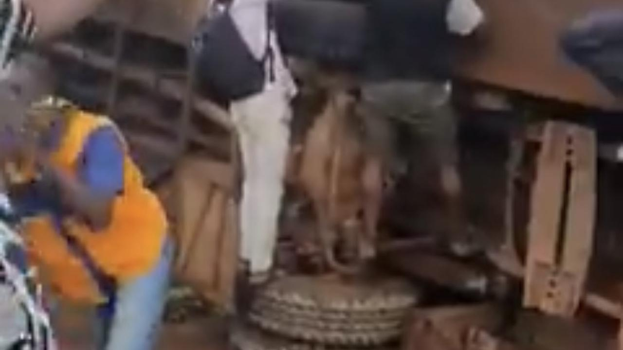 Bonon - Blablaka : un car UTB fait une grave sortie de route ce jour, des blessés graves enregistrés