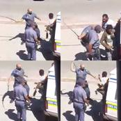 [Video] Worcester SAPS Shambok A Man For Not Wearing A Mask In Public Being Investigated.