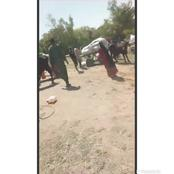 Following Sustained ISWAP Attacks In Damasak—Borno Villagers Seen Fleeing To Niger Republic [VIDEO]